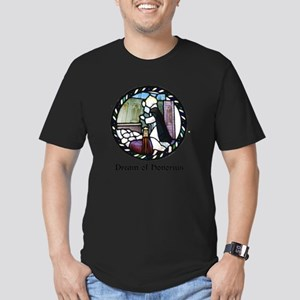 Dream of Honorius Men's Fitted T-Shirt (dark)