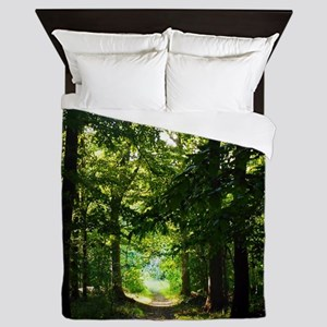 Forest Path Queen Duvet
