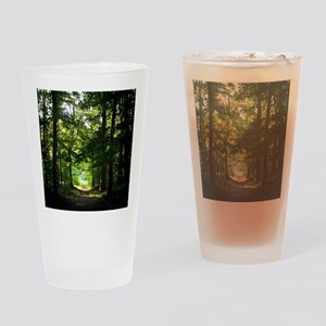 Forest Path Drinking Glass