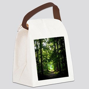 Forest Path Canvas Lunch Bag