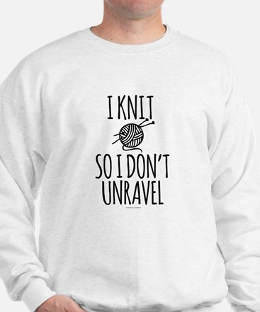 Knit So I Don't Unravel Sweater