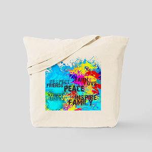 Splash Words of Good Tote Bag