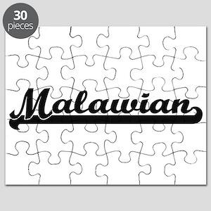 Malawian Classic Retro Design Puzzle