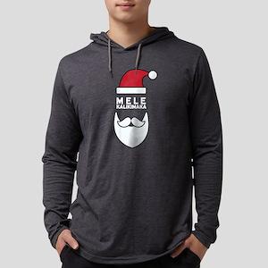 Mele Kalikimaka Santa Long Sleeve T-Shirt