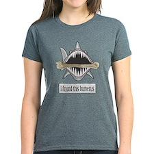 Funny Shark Women's Dark T-Shirt