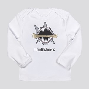 Funny Shark Long Sleeve Infant T-Shirt