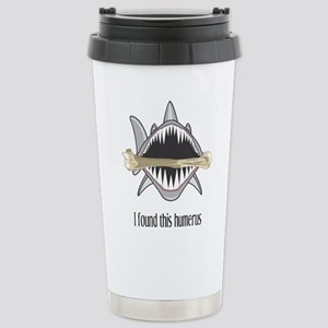 Funny Shark Stainless Steel Travel Mug