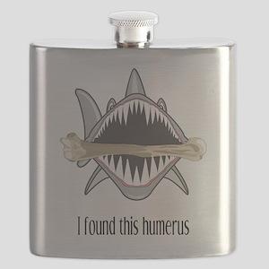 Funny Shark Flask