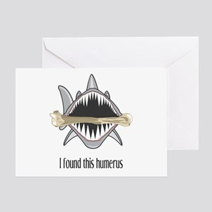 Funny Shark Greeting Card