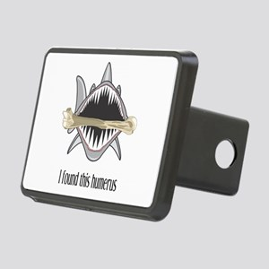 Funny Shark Rectangular Hitch Cover