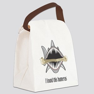 Funny Shark Canvas Lunch Bag
