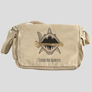 Funny Shark Messenger Bag