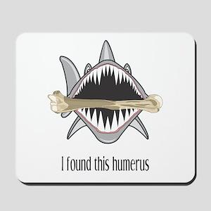 Funny Shark Mousepad
