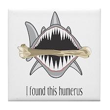 Funny Shark Tile Coaster