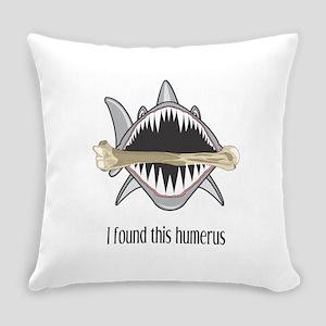 Funny Shark Everyday Pillow