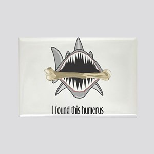 Funny Shark Rectangle Magnet