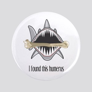 Funny Shark Button