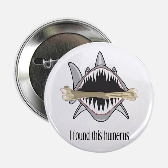 "Funny Shark 2.25"" Button"