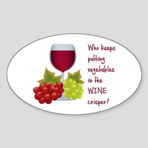 Funny Wine Lovers Quote Sticker