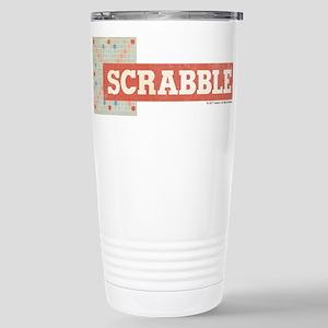 Scrabble Tiles 16 oz Stainless Steel Travel Mug