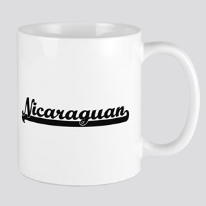 Nicaraguan Classic Retro Design Mugs