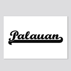 Palauan Classic Retro Des Postcards (Package of 8)