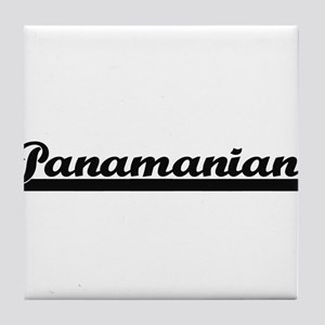 Panamanian Classic Retro Design Tile Coaster