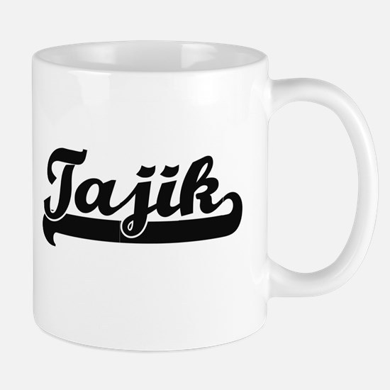 Tajik Classic Retro Design Mugs