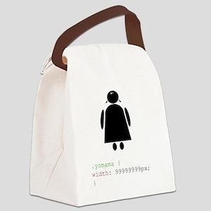 Yo Mama Canvas Lunch Bag