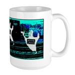 Ghosts of railroads Past ! Large Mug