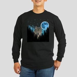 Wolf StarLight Long Sleeve T-Shirt