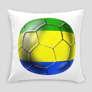 Gabonese Football Everyday Pillow