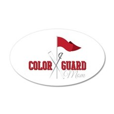Color Guard Mom Wall Decal