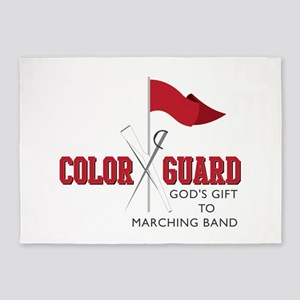 Color Guard Gift 5'x7'Area Rug