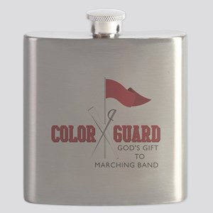 Color Guard Gift Flask