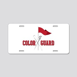 Color Guard Aluminum License Plate