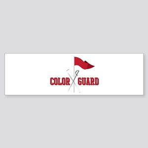 Color Guard Bumper Sticker
