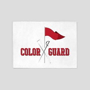 Color Guard 5'x7'Area Rug