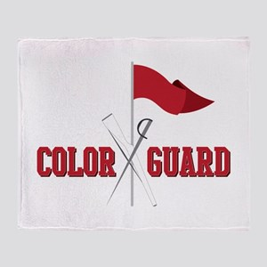 Color Guard Throw Blanket