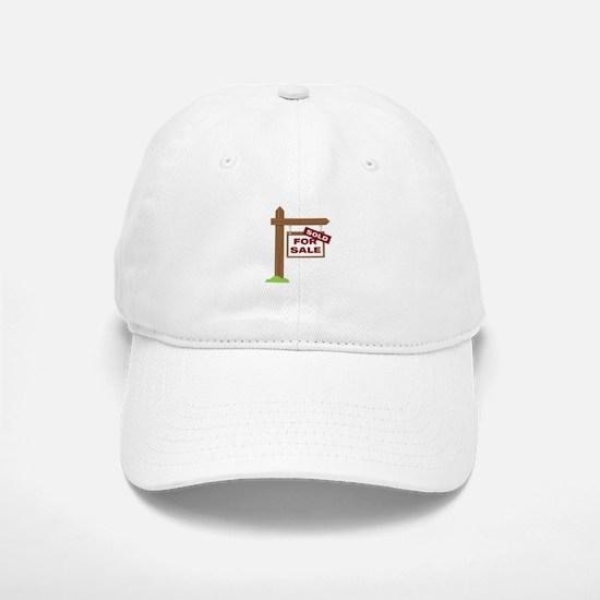 Sold Sign Baseball Baseball Baseball Cap