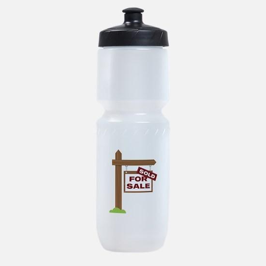 Sold Sign Sports Bottle