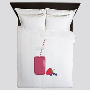 Fruit Smoothie Queen Duvet