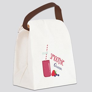 Smoothie Queen Canvas Lunch Bag