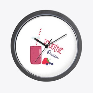 Smoothie Queen Wall Clock