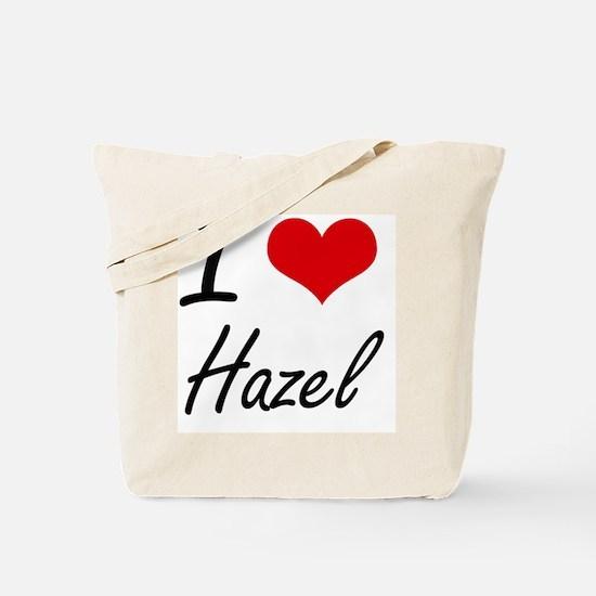 I Love Hazel artistic design Tote Bag