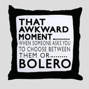 Bolero Dance Awkward Designs Throw Pillow