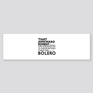 Bolero Dance Awkward Designs Sticker (Bumper)