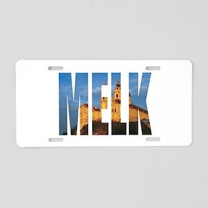 Melk Aluminum License Plate