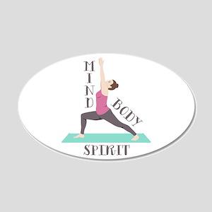Mind Body Spirit Wall Decal
