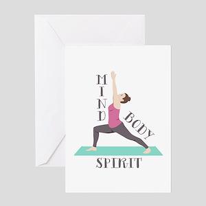 Mind Body Spirit Greeting Cards